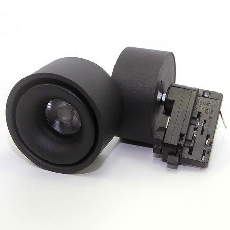 LED railspot wit of zwart 15W