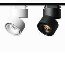 Projecteur sur rail led blanc ou noir 15W