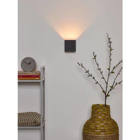 Applique murale angle réglable noir doré, gris, blanc, laiton or, café  LED
