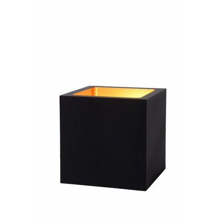 Vierkante tafellamp dimmer wit of zwart goud LED 6W