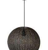 Hanglamp Arabisch zwart goud 38,5cm Ø E27