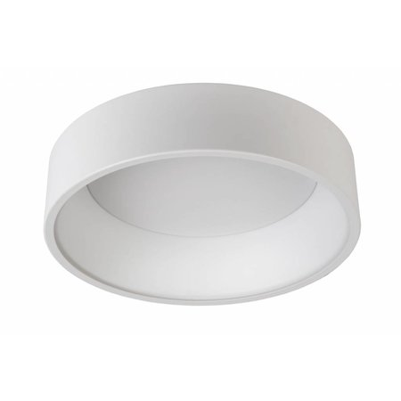 Dimmable ceiling light LED round 30W white or black