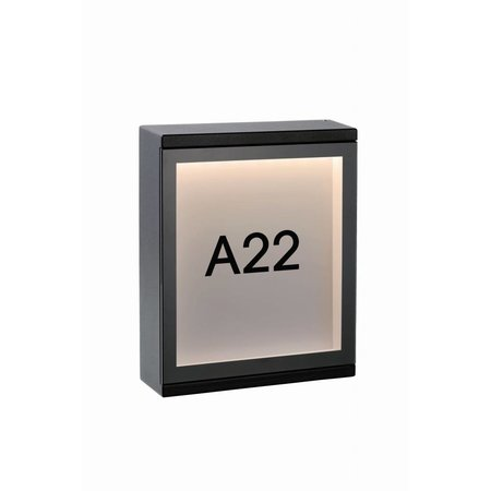 Huisnummerverlichting LED 6W rechthoekig
