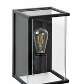 Buitenlamp glas voor wand E27