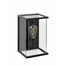 Outdoor garden wall light glass E27