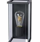 Buitenlamp muur glas E27