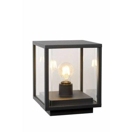 Lampe sur colonne extérieure verre E27