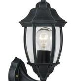 Lantaarn buitenlamp zwart, wit of antiek groen E27