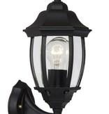 Lantaarn buitenlamp zwart of antiek groen E27