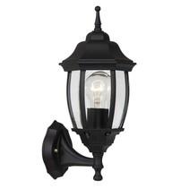 Lantern outdoor lamp black or antique green E27