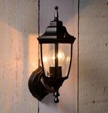 Lantern outdoor lamp black or antique green E27
