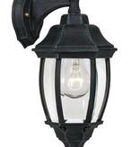 Applique lanterne noire ou vert antique E27