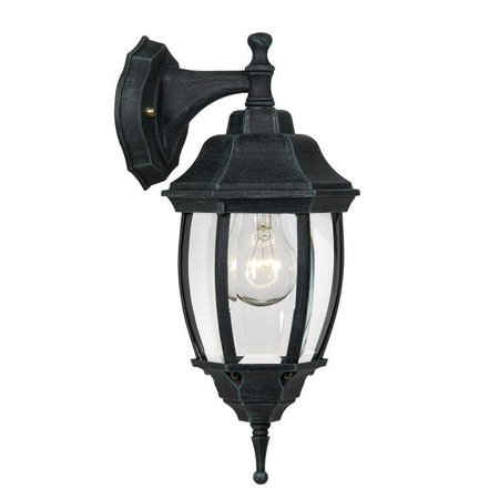 Victorian wall lamp black, white or antique green E27