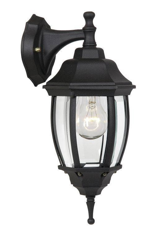 Populair Lantaarn wandlamp zwart, wit of antiek groen E27 | Myplanetled FF33