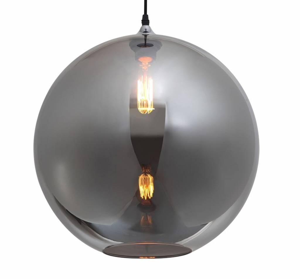 Onwijs Glazen hanglamp boven eettafel bol 40cm Ø | Myplanetled KE-97