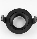 Inbouwspot 85mm/106mm wit/zwart voor GU10/LED module