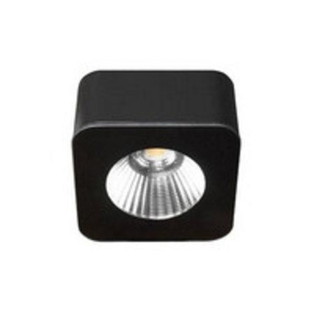 Plafonnier LED carré sans transfo 62mm large 5W