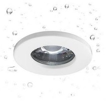 Spot encastrable IP65 rond transparent Ø 82mm pour GU10