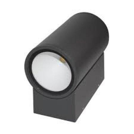 Wandlamp buiten LED up of down grijs/antraciet 180mm 12W