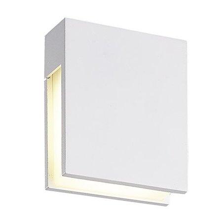 Applique murale exterieure blanche ou noire 120mm H 3W