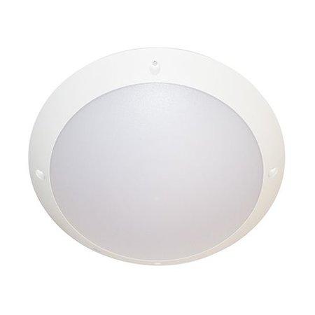 Plafonnier LED exterieur rond 300mm diamètre 15 ou 9W