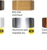 Wandlamp hout LED of ALU up & down 7,5W 221mm breed