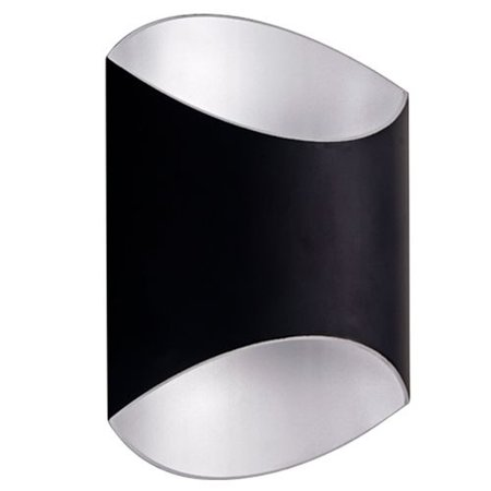 Wall light design oval up down 250mm H 12W LED module