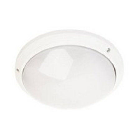 Plafonnier exterieur rond blanc ou noir diamètre 270mm E27