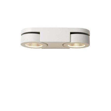 Double applique LED 2x5W orientable blanc