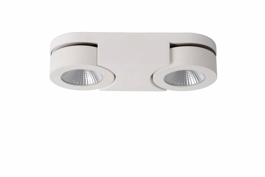 Double applique led 2x5w orientable blanc myplanetled