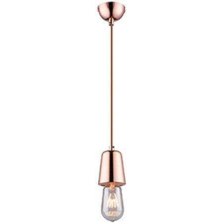 Lamphouder hanglamp beton, chroom, koper E27