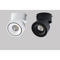 Adjustable spotlight LED15 or  20W white or black