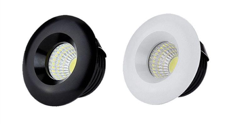 buy popular c1954 2eeaa 50mm LED downlight 5W white or black