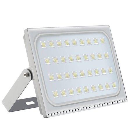 LED bouwlamp 200 watt zwart of grijs