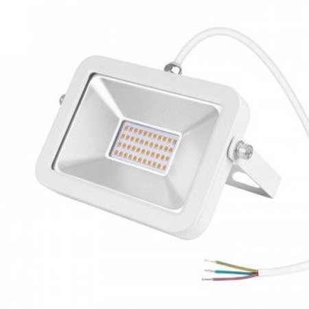 30w LED floodlight SMD black or white