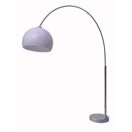 Arc lamp floor white 1800-2080mm high
