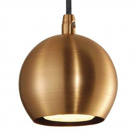 Luminaire boule blanc, cuivre, laiton ou noir 89mm Ø