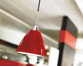 Pendant lights red