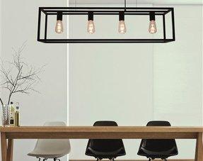 Rechthoekige hanglampen
