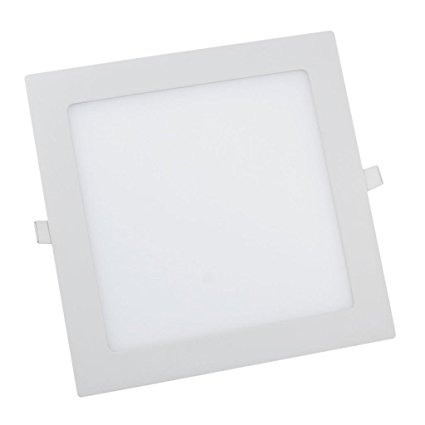 Dalle LED encastrable carrée 6W 120mmx120mm blanche