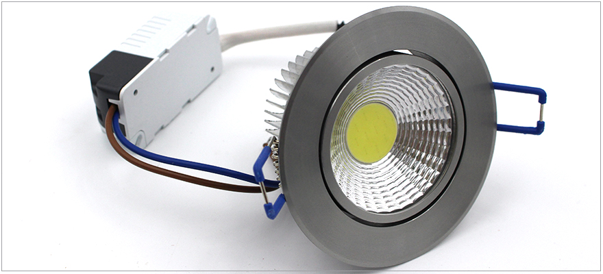 Spot encastrable diametre 55mm 5W LED