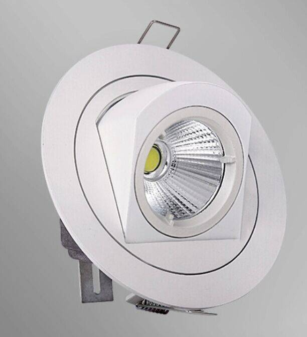 Spot encastrable LED 10W 360° orientable