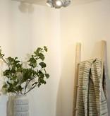 Design plafondspot wit of grijs GU10 LED 4x4,5W