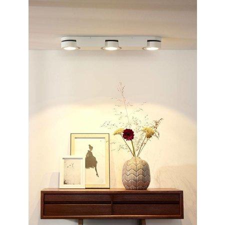 Plafond spot LED wit 3x5W