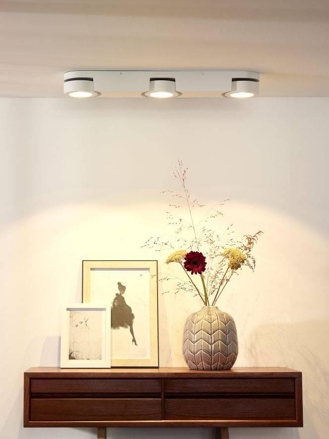 buy popular dc20b 24538 Dining room ceiling light white LED 3x5W