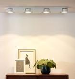 Lamp met spotjes LED wit modern 4x5W
