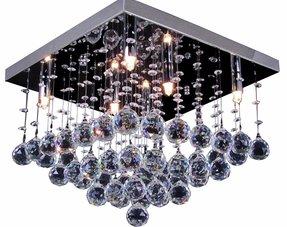 Kristallen plafondlampen