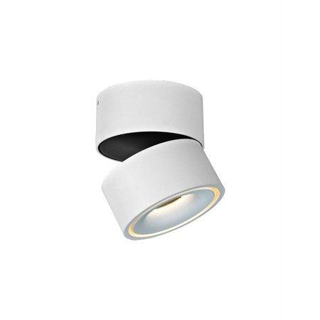 Plafonnier LED blanc orientable 9W 103mm haut