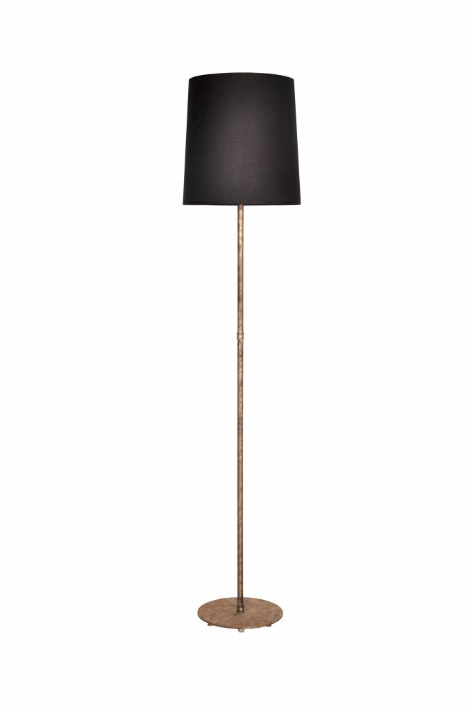 Image of: Floor Lamp Bronze Lamp Shade Not Included 1xe27 1350mm High Myplanetled