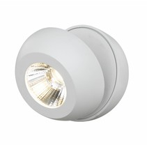 Spotlamp LED 7W design wit of zwart